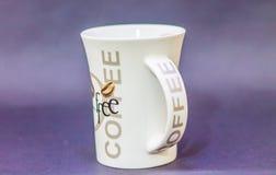 Taza de café de la comida de la bebida de la taza Imagen de archivo libre de regalías