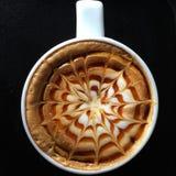 Taza de café decorativa Fotos de archivo