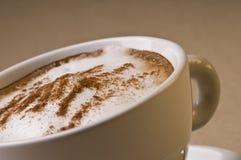 Taza de café del Cappuccino Imagen de archivo libre de regalías