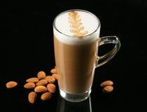 Taza de café del latte imágenes de archivo libres de regalías