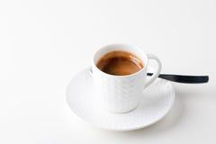 Taza de café express imagen de archivo libre de regalías
