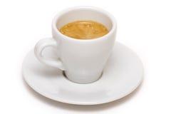 Taza de café express Foto de archivo libre de regalías