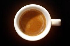 Taza de café express Imágenes de archivo libres de regalías