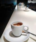 Taza de café express del café Fotos de archivo