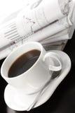 Taza de café fragante foto de archivo