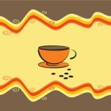 Taza de café - ilustración del vector Imagenes de archivo