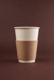 Taza de café a ir Fotos de archivo