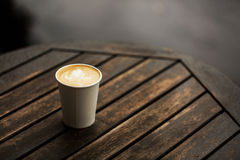 Taza de café a ir Imagen de archivo
