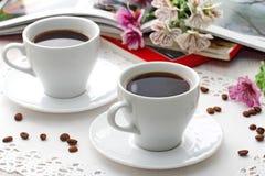 Taza de café de la mañana Imagenes de archivo