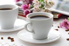 Taza de café de la mañana Foto de archivo