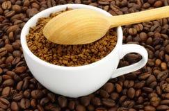 Taza de café molido Foto de archivo libre de regalías