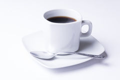 Taza de café sólo fresco Imagen de archivo
