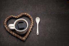 Taza de café sólo para los amantes del café Imagen de archivo libre de regalías