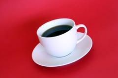 Taza de café sin la cuchara Fotografía de archivo