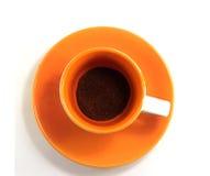 Taza de café sin procesar Imagen de archivo libre de regalías