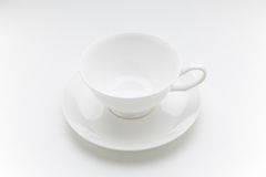 Taza de café vacía Imagen de archivo