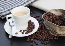 Taza de caf Foto de archivo
