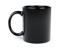 Taza de café aislada Imagenes de archivo