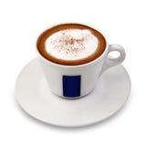 Taza de cappuccino Imágenes de archivo libres de regalías