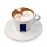Taza de cappuccino Fotos de archivo