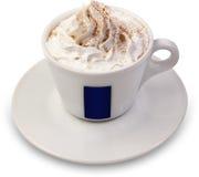 Taza de cappuccino Imagen de archivo