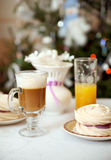 El desayuno del día de fiesta Imagen de archivo libre de regalías