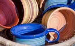 Taza de cerámica Imagen de archivo libre de regalías