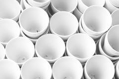 Taza de cerámica Foto de archivo libre de regalías