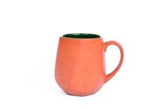Taza de cerámica Fotografía de archivo libre de regalías