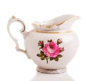 Taza de cerámica retra Fotos de archivo libres de regalías