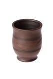 Taza de cerámica sin una manija Imágenes de archivo libres de regalías