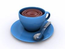 Taza de chocolate Imagen de archivo