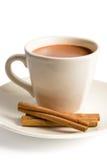Taza de chocolate caliente Imagen de archivo libre de regalías