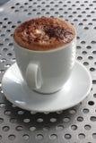 Taza de chocolate caliente Foto de archivo libre de regalías
