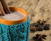 Taza de chocolate caliente Imagen de archivo