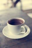 Taza de chocolate caliente Fotos de archivo libres de regalías