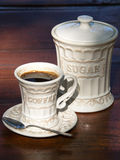 Taza de cofee Foto de archivo libre de regalías