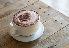 Taza de cofee caliente Foto de archivo libre de regalías