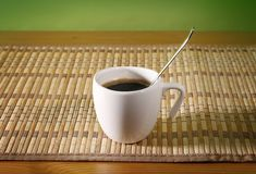 Taza de Coffe Imágenes de archivo libres de regalías