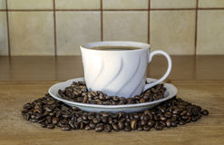 Taza de coffe imagenes de archivo