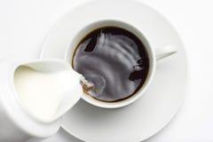 Taza de coffe del café express Fotografía de archivo libre de regalías