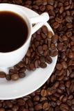 Taza de coffee_3 Fotografía de archivo libre de regalías