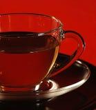 Taza de cristal de té Fotografía de archivo libre de regalías