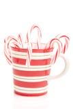 Taza de la Navidad Fotos de archivo libres de regalías