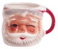 Taza de la Navidad Imágenes de archivo libres de regalías