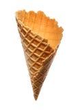 Taza de la oblea para el helado Imágenes de archivo libres de regalías