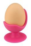 Taza de la silla del huevo Fotos de archivo libres de regalías