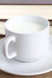 Taza de leche foto de archivo