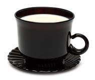 Taza de leche Imágenes de archivo libres de regalías
