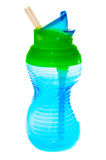 Taza de los niños azules Foto de archivo libre de regalías